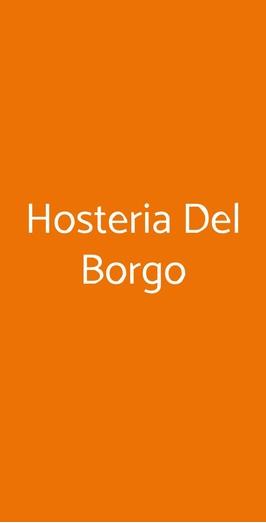 Hosteria Del Borgo, Sorano
