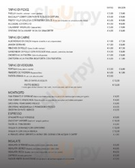 Menu Pizza & Tapas