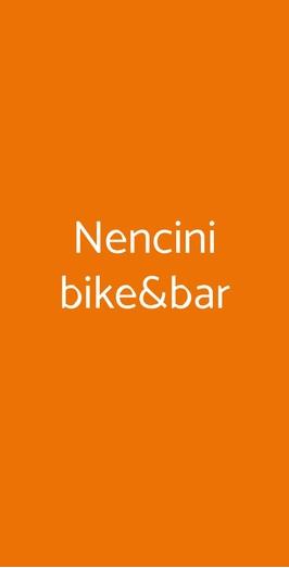 Nencini Bike Bar Prato Menu Prezzi Recensioni Del Ristorante