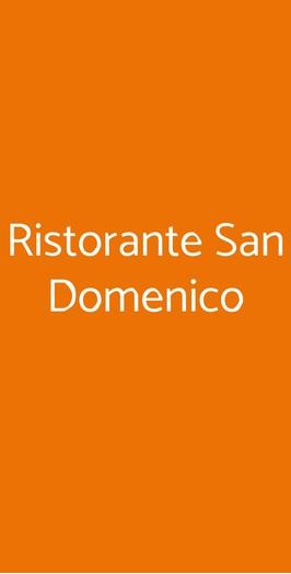 Ristorante San Domenico, Siena