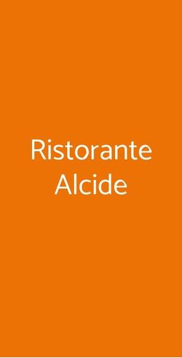 Ristorante Alcide, Poggibonsi