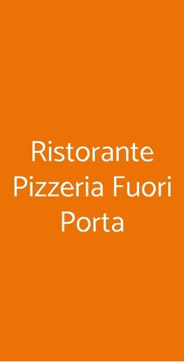Ristorante Pizzeria Fuori Porta, San Gimignano