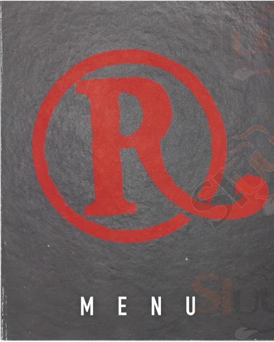 Roadhouse Restaurant Roma Testaccio Roma menù 1 pagina