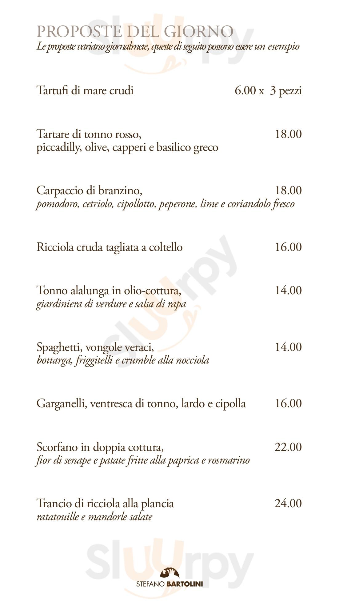 Terrazza Bartolini Menu Principale Sluurpy It