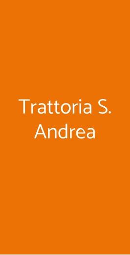 Trattoria S. Andrea, Faenza