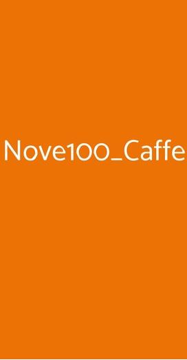 Nove100_caffe, Faenza