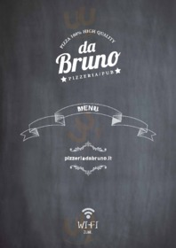 Menu Pizzeria Pub Da Bruno