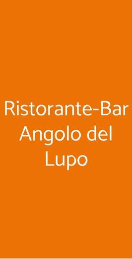 Ristorante-bar Angolo Del Lupo, Grottammare