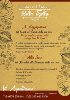 Osteria Bella Tigella, Mantova