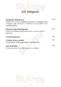 Menu La Rocca Ristorante Pizzeria