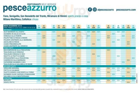 Pesceazzurro A Senigallia Menù Prezzi Recensioni Del Ristorante
