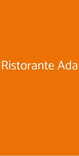 Ristorante Ada, Osimo