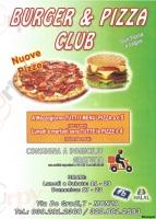 Burger E Pizza Club, Monza