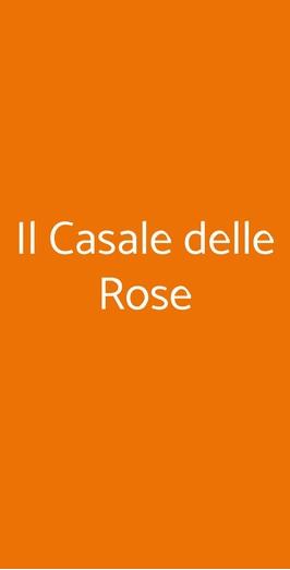 Il Casale Delle Rose, Fano