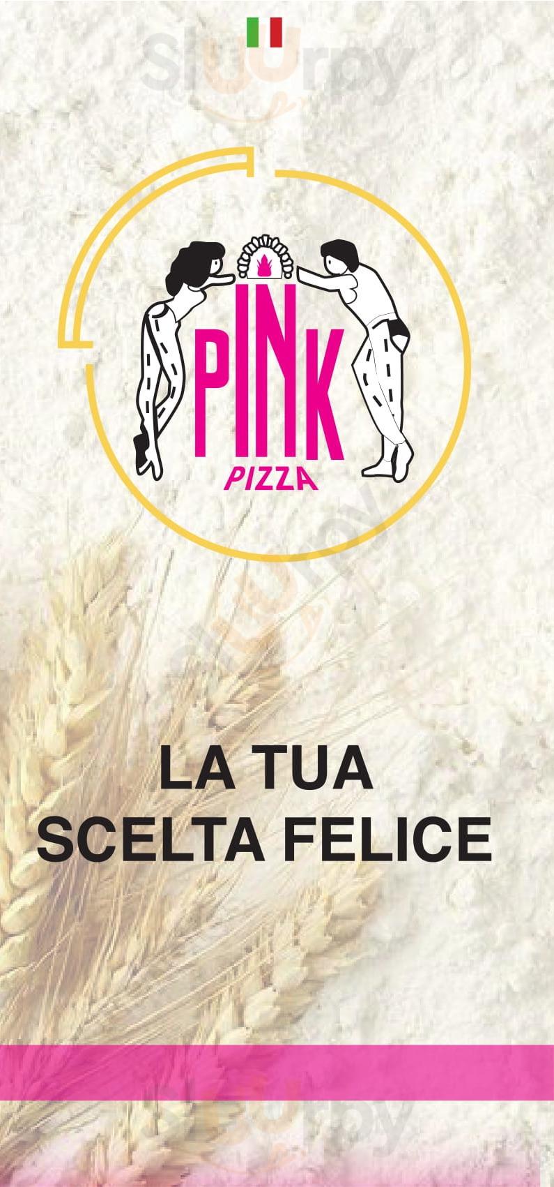 PINK PIZZA Ragusa menù 1 pagina