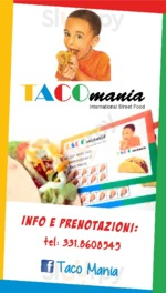 Menu Taco Mania International Street Food