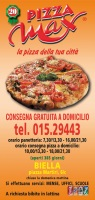 Menu PIZZA MAX