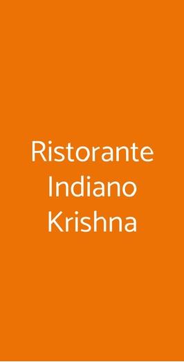 Ristorante Indiano Krishna, Trieste