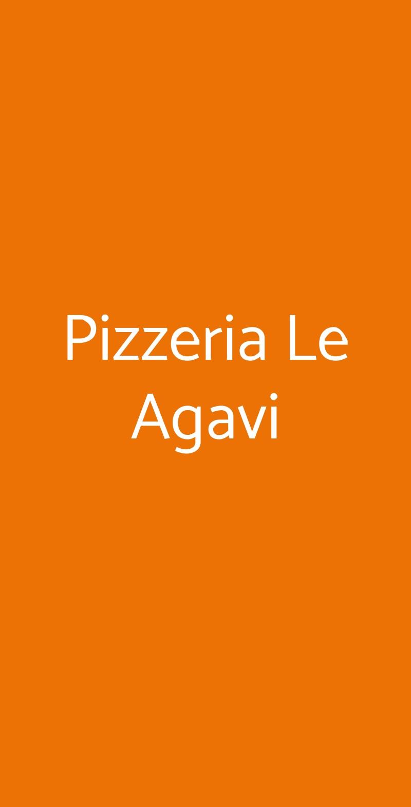 Pizzeria Le Agavi Trieste menù 1 pagina