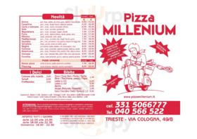 Pizza Millenium, Trieste