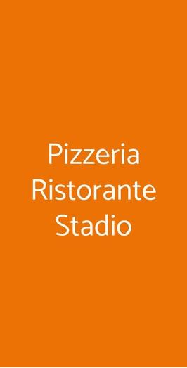 Pizzeria Ristorante Stadio, Trieste