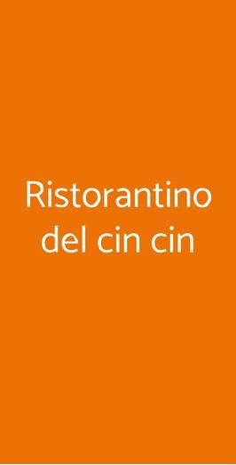 Ristorantino Del Cin Cin, Vercelli