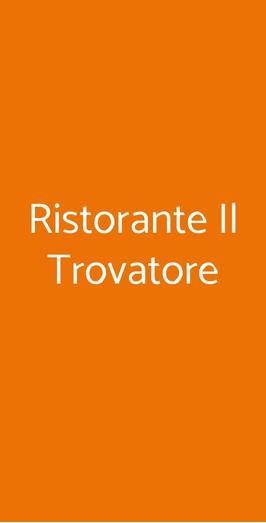 Ristorante Il Trovatore, Vercelli