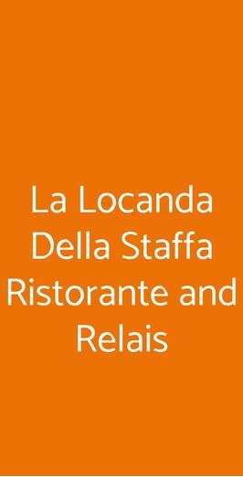 La Locanda Della Staffa Ristorante And Relais, Marano Ticino