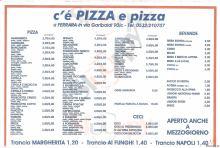 C'e' Pizza E Pizza, Ferrara