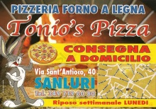 Tonio's Pizza, Villacidro