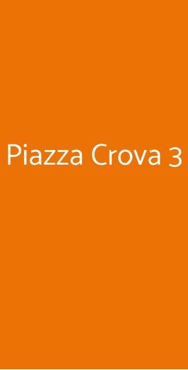 Piazza Crova 3, Vaglio Serra