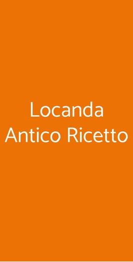 Locanda Antico Ricetto, Portacomaro
