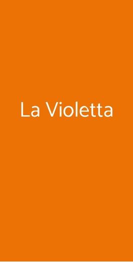 La Violetta, Calamandrana