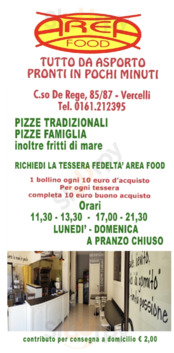 Areafood, Vercelli