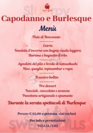 Menu I Due Buoi
