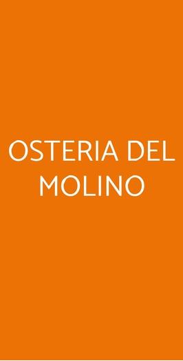 Osteria Del Molino, Gavi