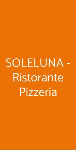 Soleluna - Ristorante Pizzeria, Tortona