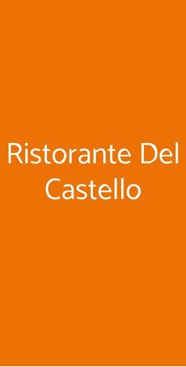 Ristorante Del Castello, Cereseto