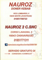 Nauroz, Sestri Levante