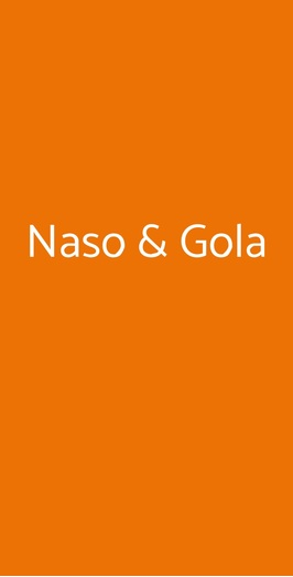 Naso & Gola, Alice Bel Colle