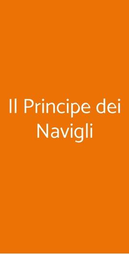 Il Principe Dei Navigli, Milano
