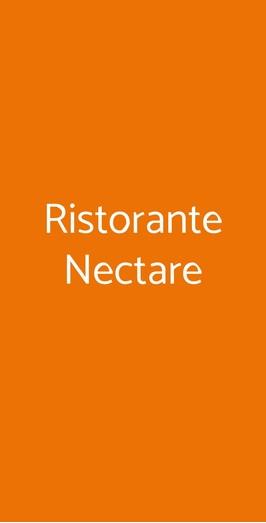 Ristorante Nectare, Milano