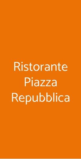 Ristorante Piazza Repubblica, Milano