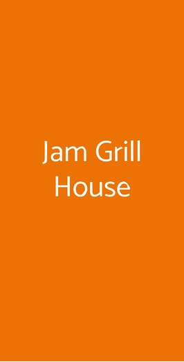 Jam Grill House, Milano