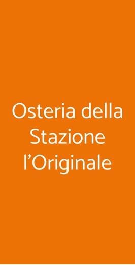Osteria Della Stazione L'originale, Milano