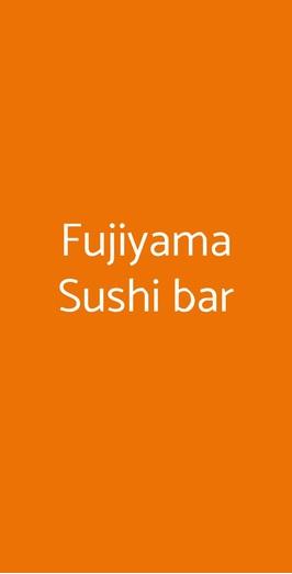 Fujiyama Sushi Bar, Milano
