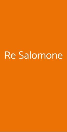 Re Salomone, Milano