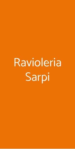 Ravioleria Sarpi, Milano
