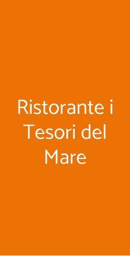Ristorante I Tesori Del Mare, Milano