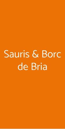 Sauris & Borc De Bria, Milano